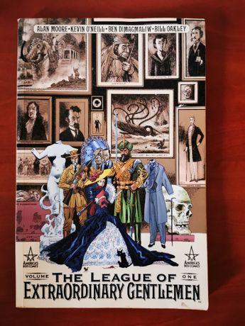 """""""A liga dos cavalheiros extraordinários volume 1"""" (Alan Moore)"""