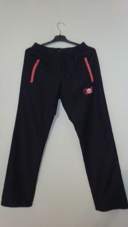 Śliczne damskie spodnie dresowe ADIDAS r.XL BDB stan