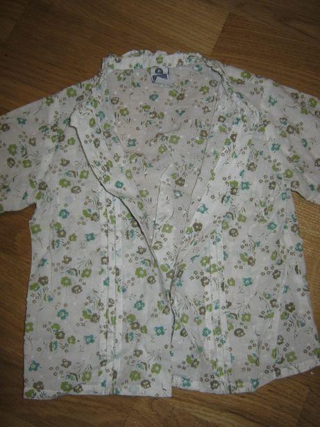 Хлопковая блуза (рубашка) на 1-1,5 года, Индия