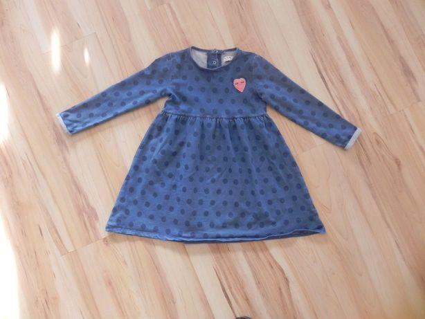 Sukienka 5-10-15 rozmiar 122