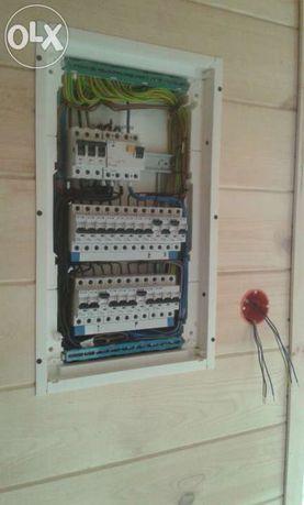 Elektryk, usługi elektryczne, pomiary, tv-sat