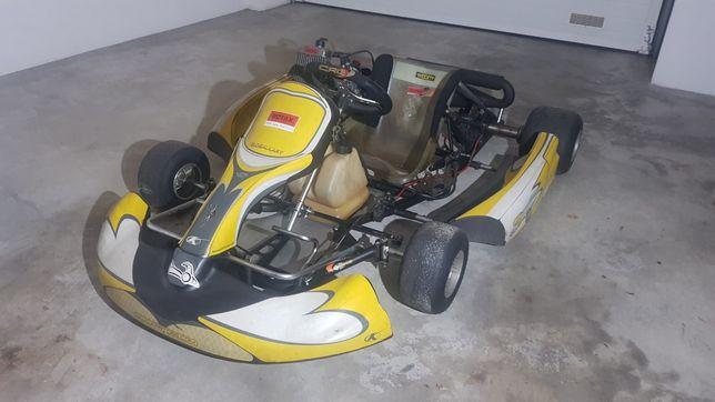 Kart Rotax 125 como novo