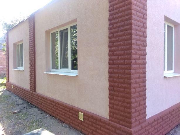 Утепление фасадов домов, все виды внутренних отделочных работ. Ахтырка