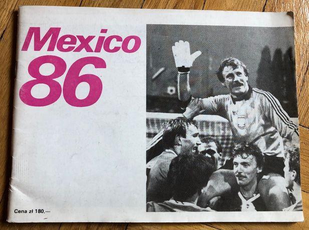 """Album """"Mexico 86"""" - mundial 1986 - Stefan Grzegorczyk - piłka nożna"""