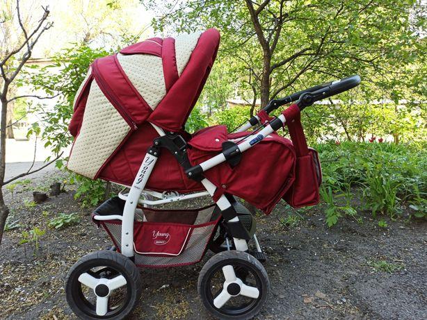 Детская коляска (трансформер) Adamex young