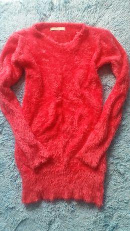 ciepły i milutki sweterek roz uniwersalny