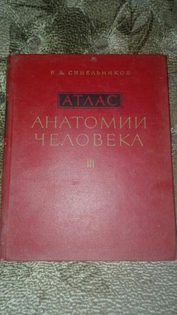 Атлас анатомии человека Р.Д.Синельников