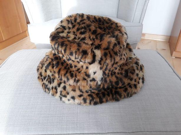 Czapka/kapelusz w panterkowy print
