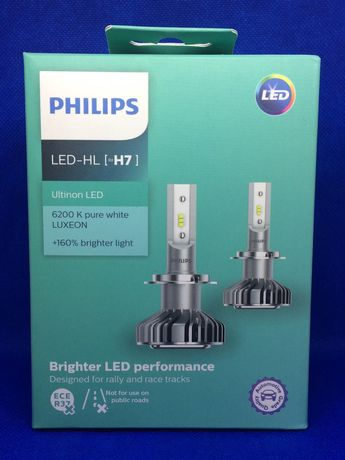 Philips H7 LED 12V 14W 6200K (PS 11972 ULW X2)