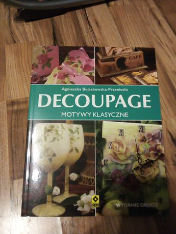 Decoupage motywy klasyczne ksiazka