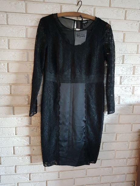 Nowa sukienka koronka 42
