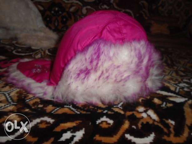 шапка ушанка на зиму для девочки