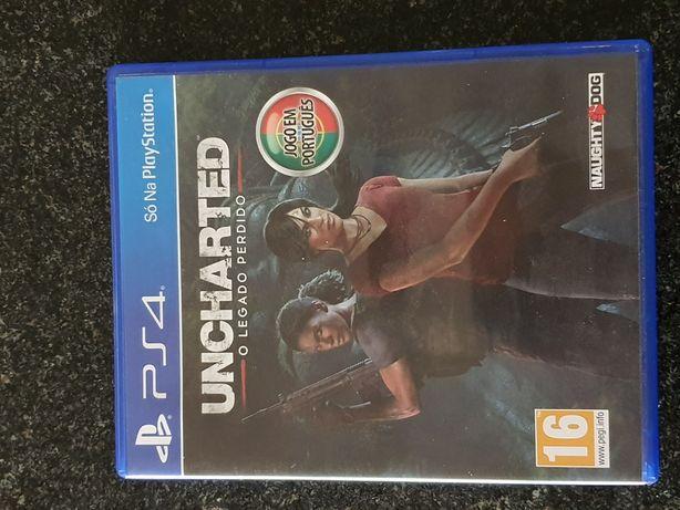 PS4 Uncharted - O Legado Perdido PT