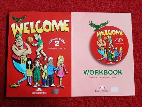 Английский язык учебник+тетрадь Welcome 2