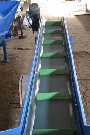 Taśmociąg ( podajnik ) do materiałów sypkich - producent