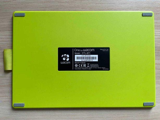 Графический планшет Wacom Bamboo One CTL-671