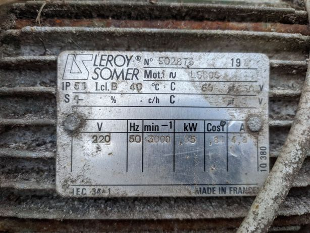 Pompa do wody 550W 220V