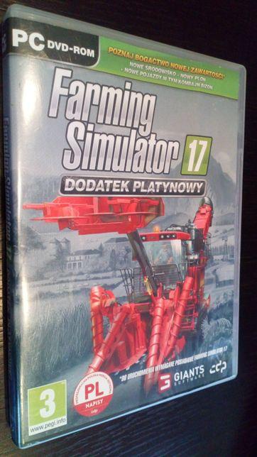 Gra PC Farming Simulator 17 PL dodatek Platynowy 2017 nie ps3 hit