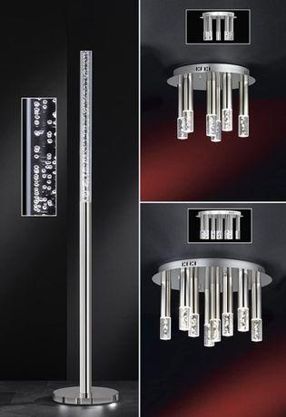 Nowoczesna lampa stojąca LED BUBBLE ściemniacz prosta minimalistyczna