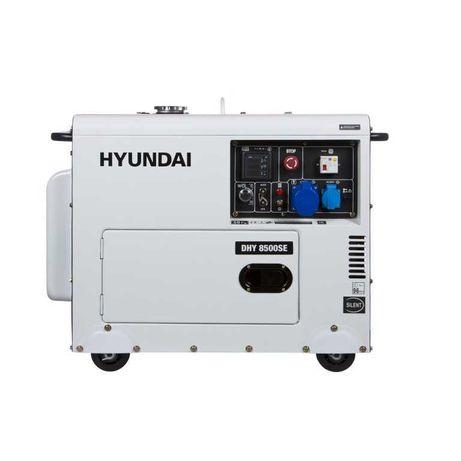 Генератор Дизельный Hyundai DHY 8500SE. ( 7.2 кВт.) - Возможен Торг.