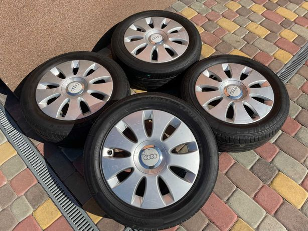 Тітанові діски Exip 5*112 R16 -Audi-Scoda-VW-Seat