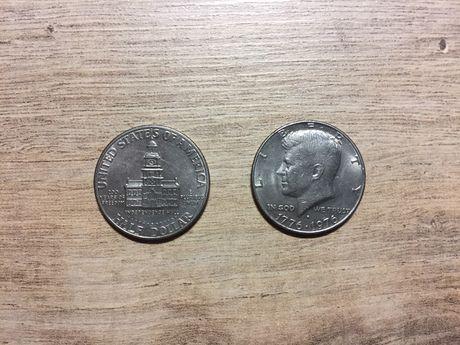 Юбилейные 50 центов США Half Dollar 1776-1976 – Kennedy