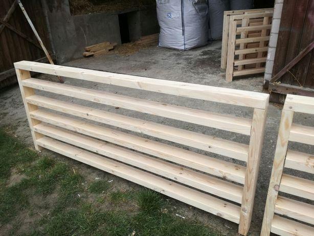 Balustrada drewniana na wymiar zabudowa tarasu