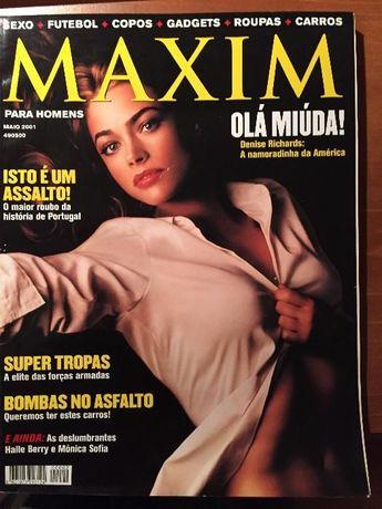 Maxim - nº 2 - Maio 2001 - Marisa Cruz e Halle Berry