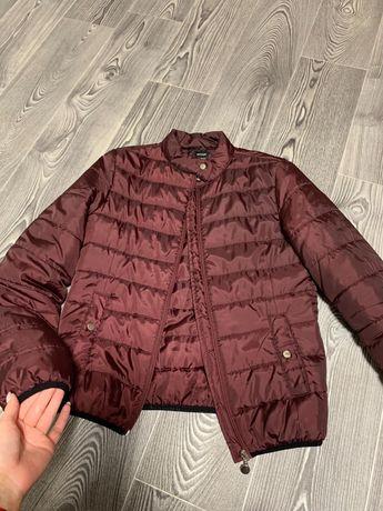 Курточка демисезонка цвета марсала