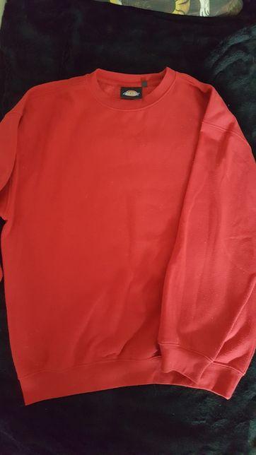 Czerwona bluza dickies oversize M basic