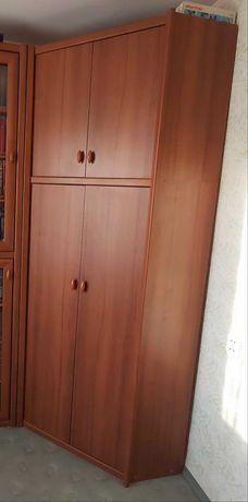 Мебель шкаф для книг + угловой шифоньер