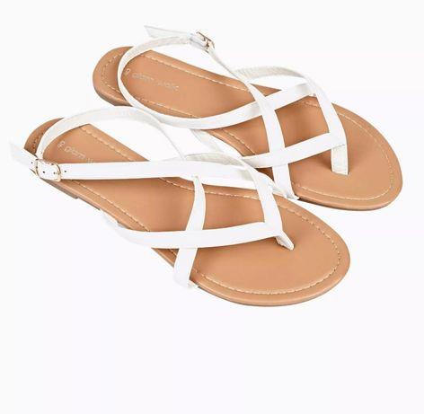 Nowe sandałki japonki
