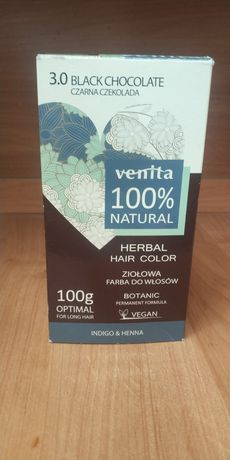 Farba do włosów Venita roślinna naturalna