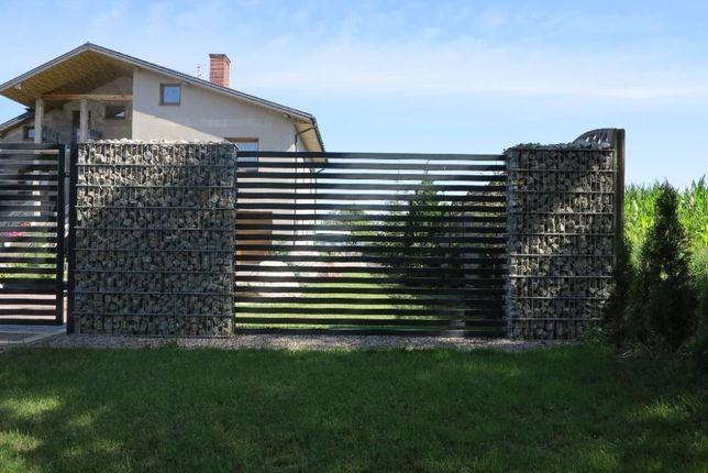 Gabion gabiony ogrodzenie gabionowe - wys. 1,6m
