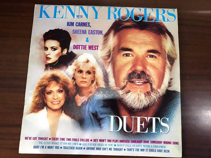 Disco de Vinil Kenny Rogers Duets Paços de Ferreira - imagem 1