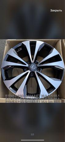 777 Новые диски Lexus RX R19 5/114,3 300 350 400 Rav4 Highlander Venza