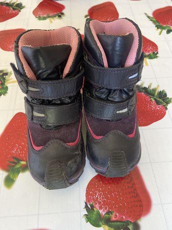 Зимние ботинки 23 размер 14,7 см на девочку Bartek Бартек