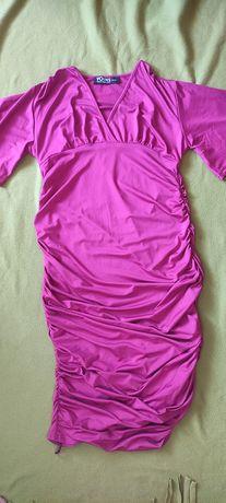 Sukienka z marszczeniem