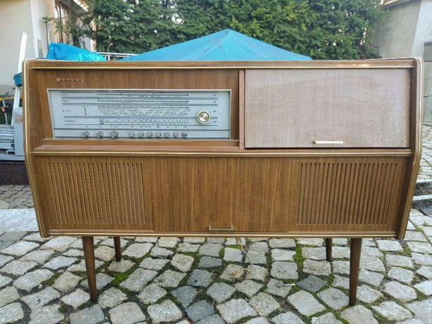 Regał grający 4670D-Silvia radio i gramofon