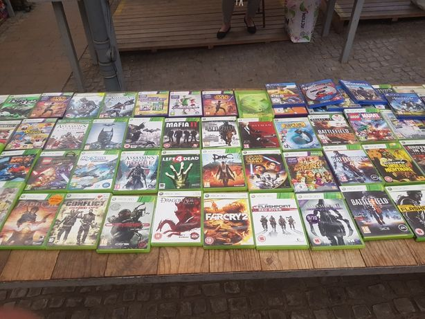 Gry Xbox 360 Ps4