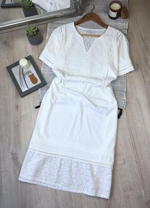 Бавовняна сукня із вставками прошви від next