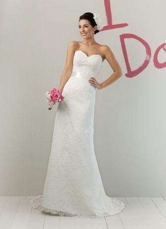 Suknia Ślubna model Sweetheart 5975 roz. 36-38 (10) stan idealny