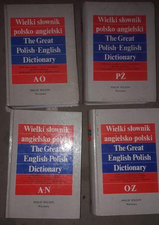 Wielki Słownik Polsko Angielski Angielskiego Polski