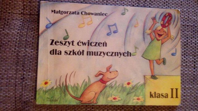 M. Chowniec Zeszyt ćwiczeń dla szkół muzycznych klasa 2
