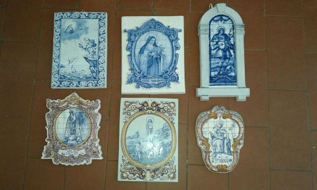 Figuras santas artigos religiosos colecção