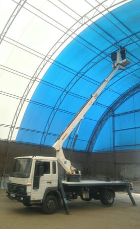 Аренда автовышка 17м телескоп и 22м локтевая нал/безнал