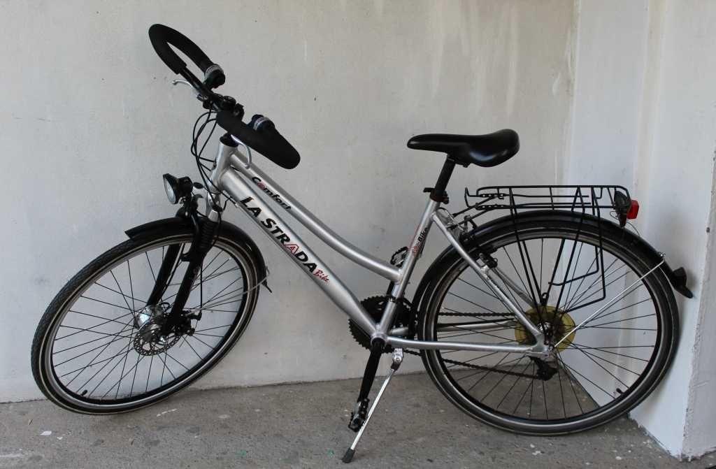 LA STRADA Rower damka trekkingowy aluminiowy koła 28 cal deore Wysyłka