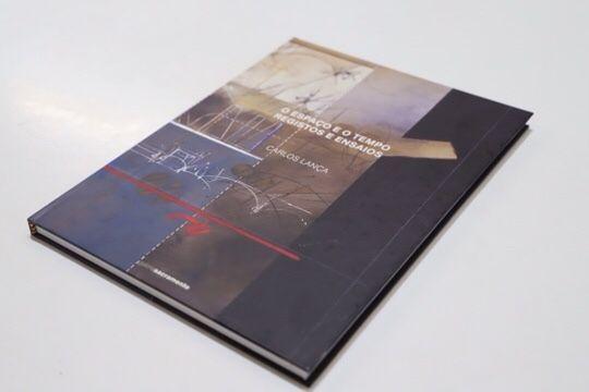 Livro de Arte do artista Carlos Lança