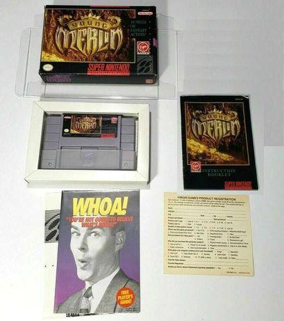 Young Merlin (SNES, Super Nintendo) игра полный комплект RPG оригинал