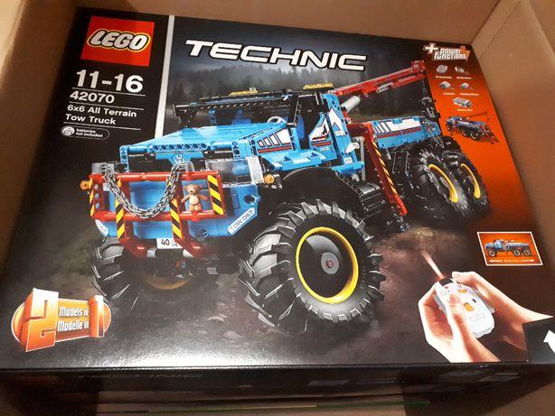 NOWY LEGO TECHNIC 42070 Zdalnie Sterowany Pojazd 6x6